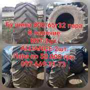 Бу шина на комбайн 800/65R32 (30.5L32) BKT